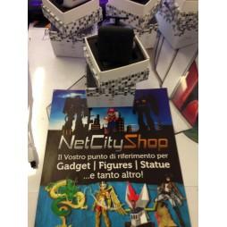 Fidget - The Switch - Fidget Cube Clicker - Nero/Nero