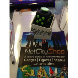 Fidget - The Switch - Fidget Cube Clicker - Nero/Verde