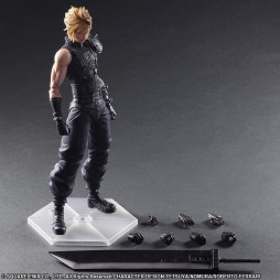 Final Fantasy VII Advent Children - Play Arts Kai - Cloud Strife Remake