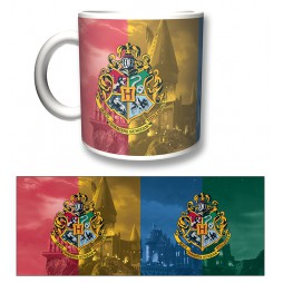 Harry Potter - Tazza - Mug Cup -Crest Series - Hogwarts Crests 320 Ml
