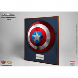 Marvel - Captain America - The Winter Soldier - 1/1 SCALE Captain America Metal Shield - Scudo Capitan America in metal