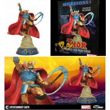 Marvel Comics - The Mighty Thor - Marvel Milestones Statue - Armored Thor - Limited edition NR 0099 of 1000