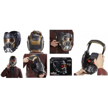 Marvel Legends - Guardians of the Galaxy - 1/1 SCALE Star-Lord Helmet - Elmo Star-Lord - Hasbro