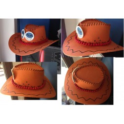 One Piece - Cappello - Portgas D. ACE Impunturato
