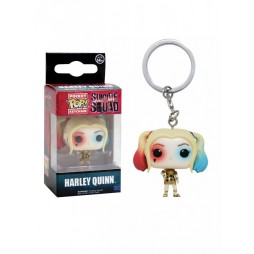 Pocket POP! DC Comics - Suicide Squad Movie - Harley Quinn - Vinyl Figure Keychain