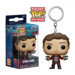 Pocket POP! Marvel Comics - Guardians Of The Galaxy 2 - Star Lord - Vinyl Figure Keychain