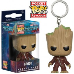Pocket POP! Marvel Comics - Guardians Of The Galaxy 2 - Young Groot - Vinyl Figure Keychain