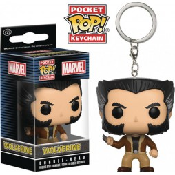 Pocket POP! Marvel Comics - Wolverine - Logan - Vinyl Figure Keychain