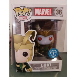 POP! Marvel 036 Loki Frost Giant Underground Toys Limited Vinyl Bobble-Head Figure
