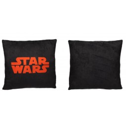 Star Wars - Cuscino - Double Face Square - Red Logo-Black/Black