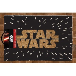 Star Wars - Doormat - Zerbino - Star Wars Light Speed Logo - Pyramid