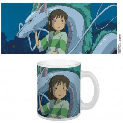 Studio Ghibli - Sen To Chihiro No Kamikakushi (Spirited Away) - La città Incantata - Tazza - Mug Cup - Chihiro and Haku