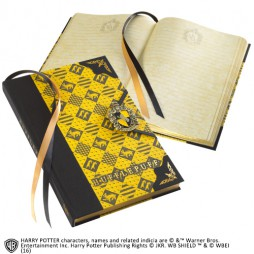 Harry Potter - Hufflepuff JOURNAL - Notebook - Diario Segreto - Hufflepuff Crest