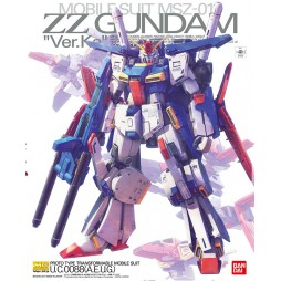 MG Master Grade - Ver.KA - Mobile Suit MSZ-01 Gundam ZZ Proto Type Transformable Mobile Suit U.C.0088 1/100