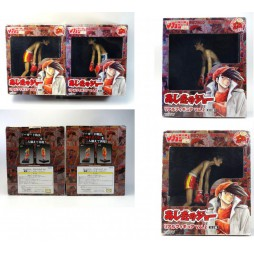 Ashita no Jo - Rocky Joe Jo Yabuki - Real Figure No Guard SET - Rocky Joe Jo Yabuki Vs Ricky Complete set of 2 Figure