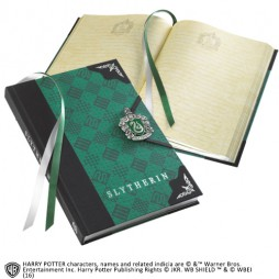Harry Potter - SLYTHERIN JOURNAL - Notebook - Diario Segreto - Slytherin Crest