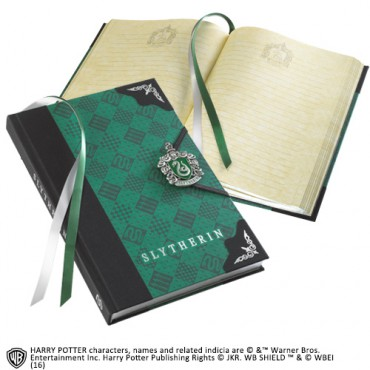 Harry Potter - SLYTHERIN JOURNAL - Notebook - Diario Segreto - Slytherin Crest