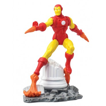 Marvel Comics - Iron Man - Mini Figure Diorama - Iron Man