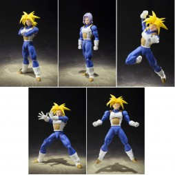 S.H. Figuarts Dragon Ball Z - Trunks (Normal and SSJ)