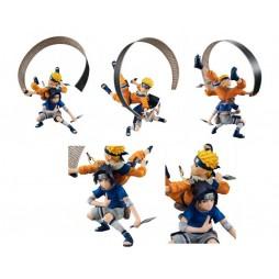Naruto - Megahouse REMIX GEM STATUE - Naruto Uzumaki Uciha Sasuke