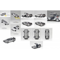 Revoltech - Movie Revo Series - 001 Back To The Future II Delorean