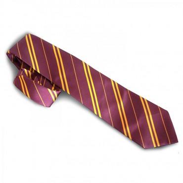 HARRY POTTER - Cravatta Griffondoro - Granata