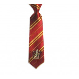 HARRY POTTER - Cravatta Griffondoro - Granata - With Gryffondor Crest