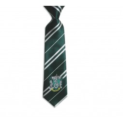 HARRY POTTER - Cravatta Serpe Verde - Verde - With Slytherin Crest