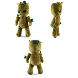 Marvel Comics Plush - Marvel Guardians Of The Galaxy 2 - Kid Groot Phunny - Peluche 20 cm