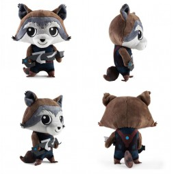 Marvel Comics Plush - Marvel Guardians Of The Galaxy 2 - Rocket Raccoon Phunny - Peluche 20 cm