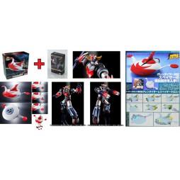 Super Robot Chogokin - Goldrake - Ufo Robot Grendizer - Grendizer Kurogane Finish + Spazer Anime Color Finish Combo SET