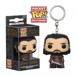 Pocket POP! Game Of Thrones - Jon Snow - Vinyl Figure Keychain