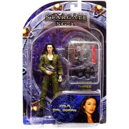 Stargate SG1 Series 3 - Diamond Select - Vala Mal Doran - Action Figure