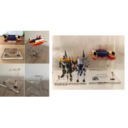 NCX-002 - Basetta Artigianale Compatibile CM\'s - per Brave Gohkin 37 - Kotetsu Jeeg - Big Shooter (Jeeg)