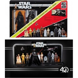 Star Wars - Kenner SW 40th Anniversary - EP.IV - Darth Vader Legacy Pack - Hasbro