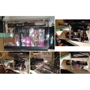 Small SW Blaster Display Case - Flush Base MR Style - Teca Per Piccoli Blaster SW