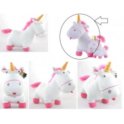 Cattivissimo Me Plush - Agnes So Fluffy Unicorn GRU Minion Plush SET - Peluche 60cm