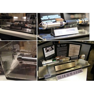 Dust Cover For Display Case - Copertura In Plexiglass per Teca Su Misura - For EFX Luke Skywalker EP.VI Lightsaber Revea