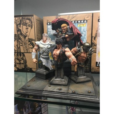 Fist Of The North Star - Hokuto No Ken - HOKUTO - DIORAMA COMPONIBILE COMPLETO - 2nd Color Edition