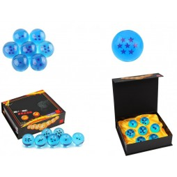 Dragon Ball GT - Sfere Del Drago - Blue Tag - 4,2 cm Diam. - Set dalla 1 alla 7 - Complete set of 7