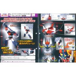 TAKARA TOMY - Super Figure Collection UFO Robot Grendizer Edition 3 - Goldrake & Grande Mazinga Super Gashapon Collectio