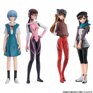 Evangelion: 3.0 You Can (Not) Redo - Trading Figure Set - Complete Set Of 4