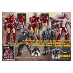 Iron Man 2 - The Movies Collection - Gashapon Set - Complete 5 Figure - SET