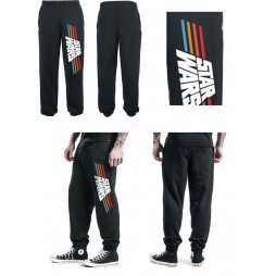 Star Wars - Vintage 77 Logo - Pantaloni Tuta Felpa Nero MEDIUM