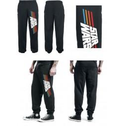 Star Wars - Vintage 77 Logo - Pantaloni Tuta Felpa Nero SMALL
