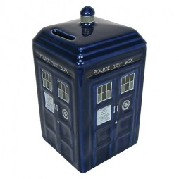 Doctor Who - Coin Bank - Salvadanaio in Ceramica - Porcelain Tardis