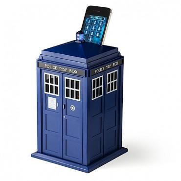 Doctor Who - Coin Bank - Salvadanaio Interattivo - Tardis I-Phone Smart