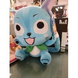 Fairy Tail Plush - Happy seduto- Peluche 28 cm
