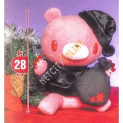 Gloomy Plush - Gloomy Black Santa Claus Vers - Peluche 28 cm