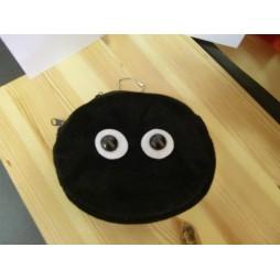 Il mio Vicino Totoro Plush - My Neighbour Totoro - Portafoglio/mini Borsellino - Peluche Spirito Della Fuliggine (Makkur